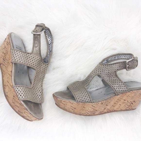Stuart Weitzman cork sandals